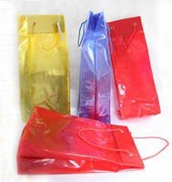 2014 best selling small pvc colored gift packing bags