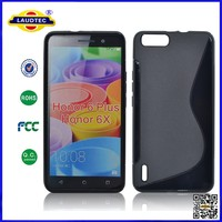 New Patent Design S Line Soft TPU Case Transparent Mobile Phone Case For Karbonn S202 Titanium