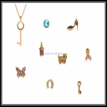 Legenstar 2015 Gold Diamond Charms Floating Locket Designs