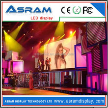 LED curved display screen PH6/10/LED video wall/stage rental backdrop/outdoor full color rental LED screen
