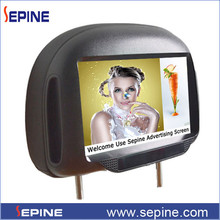 Android headrest 9 inch 3g touch screen tablet pc for taxi
