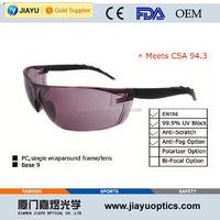 ce en166 and ansi z87.1 safety glasses
