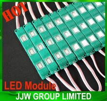 waterproof 12v white LED module 5050 5730 LED module with lens LED module blue red green color