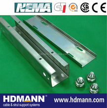 Cable support system galvanized steel trunking