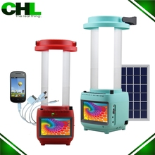 2015 new product hanging solar led light lantern with tv,usb,mp3,cell phone charger