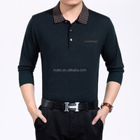 hot sale promotion polo neck cheap knitted sweater for man