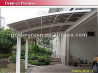 Outdoor Used Protective Car Parking Shelter (Delivery by sea,DDP price term to France only)