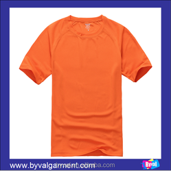 High Quality Mesh Fabric T-shirts with Your Own Logo Printing