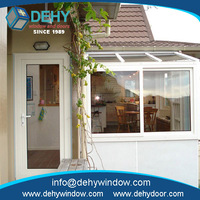 Professional aluminum pvc sliding doors & window for prefab houses in Alibaba China