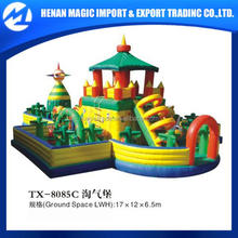 very cheap kids play inflatable castle manufacturer