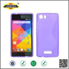 Newest Product S Line TPU Gel Case Cover Phone Case for Micromax Unite 3 Q372----- Laudtec
