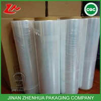 3 layer hand and machine packaging LLDPE pallet stretch film