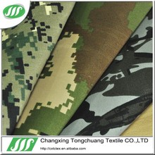 100% polyester camouflage design military and outdoor waterproof fabric to made tent and bag P-004