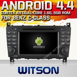 WITSON ANDROID 4.4 DOUBLE DIN CAR DVD FOR MERCEDES-BENZ G-CLASS W467 2005-2007 WITH 1080P 1G DDR BLUETOOTH GPS WIFI 3G GPS