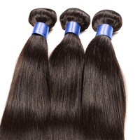 "Free Shipping 18"" 3pcs a lot Aliexpress Top Quality 7A Brazilian Virgin Remy hair, Cheap Price Brazilian hair"