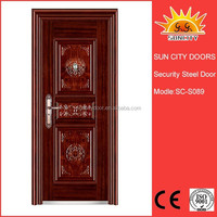 China manufacturer asian vented exterior door SC-S089.