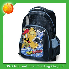 Branded kids students lightening cartoon school bag for boys