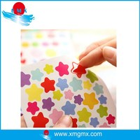 Little Star Design Colorful Adhesive Bicycle Decals