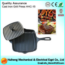 Colorful Porcelain Coated Woods Cast Iron Cookware