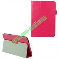Crazy Horse Pattern PU Leather Case for Dell Venue 8 Pro with Holder
