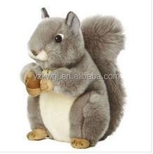 "8"" Soft Plush Huggable Squirrel Soft Stuffed Lovely Plush Toy Squirrel"