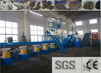 High-efficiency used waste tire recycling machine to rubber powder plant , 2015 the latest environmental protection equipment