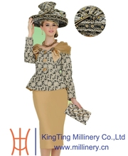 Women Church Suits together with Church Hats Whole Set Selling