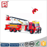 Highly Realistic Full Function Battery Operated Rc Fire Engine with 8CH-F827