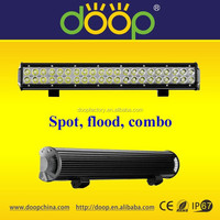 High Quality IP67 3W Chip 126W 20inch Off Road Roof Light Bars for jeep marine 4wd 4x4