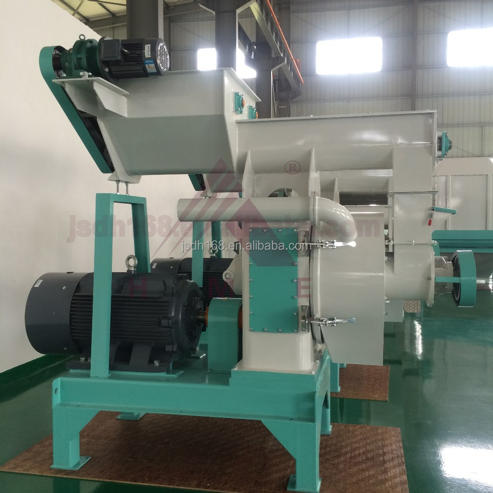 Low noise biomass wood pellet mill machine ton per hour