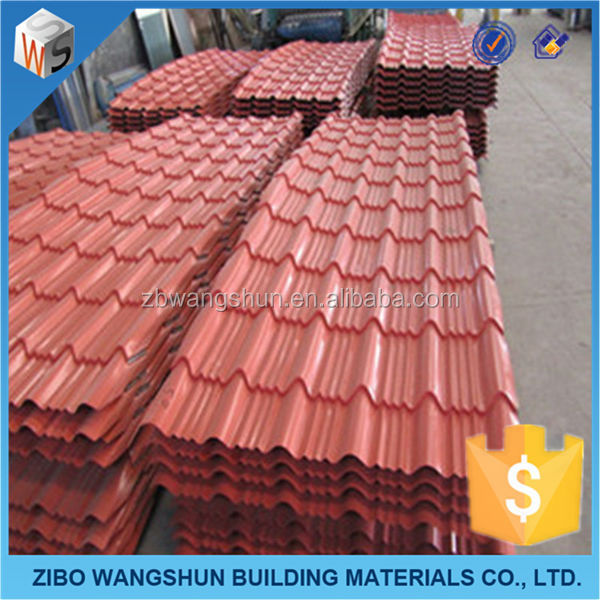 Stone Coated Steel Roofing Tile Building Material Prices