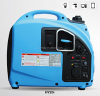 Gasoline Inverter Generator with 2.2kVA Rated AC Output