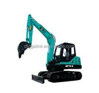 New condition rock crawler excavator