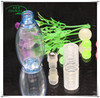 colorful kinds of 20ml own brands cosmetic pet bottle