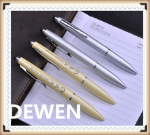 logo printed metal ball pen hot sellling cheap price metal twist pen,2 in 1 twist touch pen
