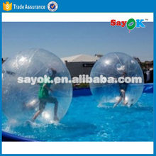 PVC/TPU inflatable water running ball water soluble golf ball water gel ball