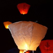 Mix colors and shapes fire sky lantern meet CE & RoHS