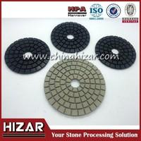 Edge Polishing pads with snail lock ceramic bond polishing pad drill polishing pads