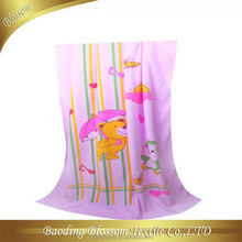 microfiber quick dry high absorbent transfer reactive printed microfiber makeup remover