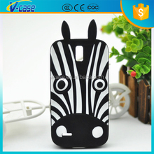 New Hot Cute Silicon 3D Cartoon Design Rubber Case Cover For LG G2 D801 D802