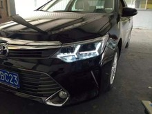 Toyota New Camry headlights 2015 camry led headlight front light bi xenon hid h7 drl headlght head lamp