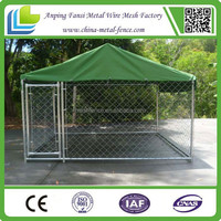 Alibaba China - large heavy duty welded mesh dog run 10x10x 6ft animal cage for sale factory direct