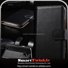 High Quality shockproof custom luxury flip wallet pu leather phone case