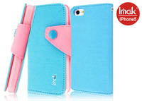 Imak Contrast colours PU leather flip case cover For iphone 6
