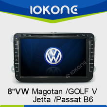 VolksWagen Jetta/Sagitar/Caddy/Touran/magotan/GOLF V/Passat B6 8 Inch car radio dvd gps navigation system