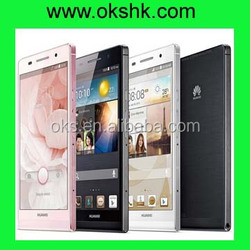 2014 new original Huawei Ascend P6 mobile phone from factory with Quad-core 1.8 GHz Cortex-A9