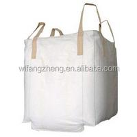 uv resistant polypropylene bag breathable plastic price per ton of charcoal intermediate bulk container jumbo storage bags