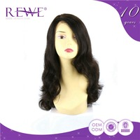 Price Cutting Silk Smooth Bohemian Remy Human Hair Full Silk Top Lace Wigs