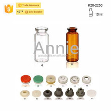 K20-2250 10ml Pharmaceutical Glass Bottle with File of Cap