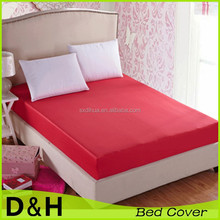 cheap price polyester bed cover for hotel and home